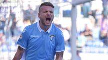 Ciro Immobile piega l'Udinese su rigore (Lapresse)
