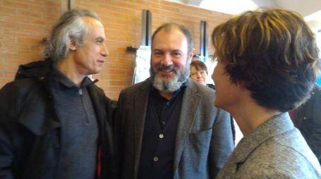 Carlo Lucarelli alla San Giorgio