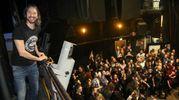 Fabio Zaffagnini alla festa dei 'millini' al Teatro Verdi