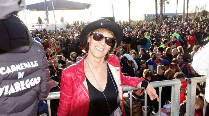 Carnevale di Viareggio, la presidente della Fondazione, Maria Lina Marcucci (Umicini)