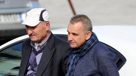 Il padre del giovane albanese colpito a morte (Calavita)