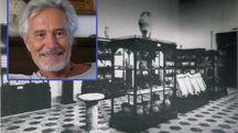 L'ex sala archeologica e Franco Sammartino
