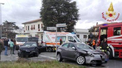 L'incidente a Castelfranco