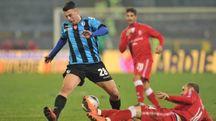 L'attaccante Massimiliano Gatto
