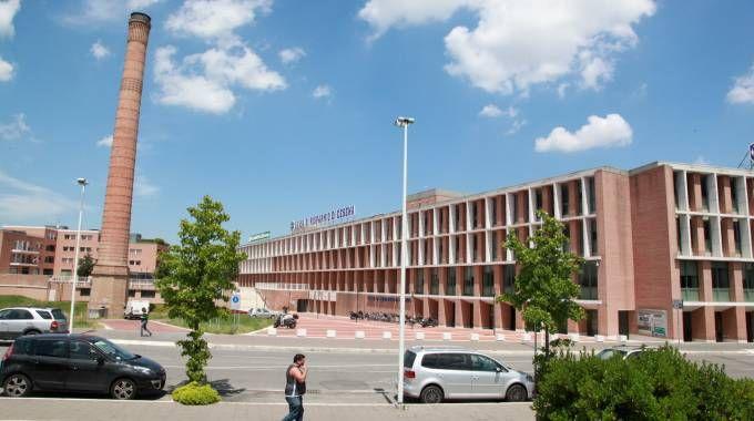 La sede della Cassa di Risparmio di Cesena