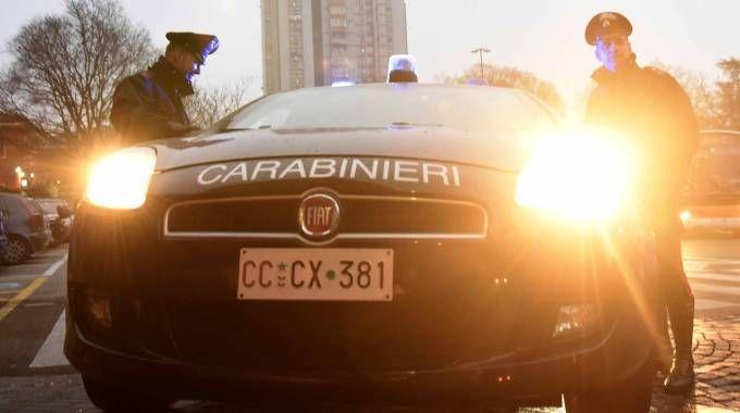 I carabinieri in zona Gad (foto archivio Businesspress)
