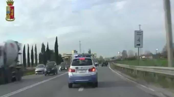 La Polizia Stradale in viaggio