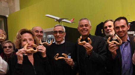 Dalì Experience, a Palazzo Belloni tutti col 'pane coi baffi' (Foto Schicchi)
