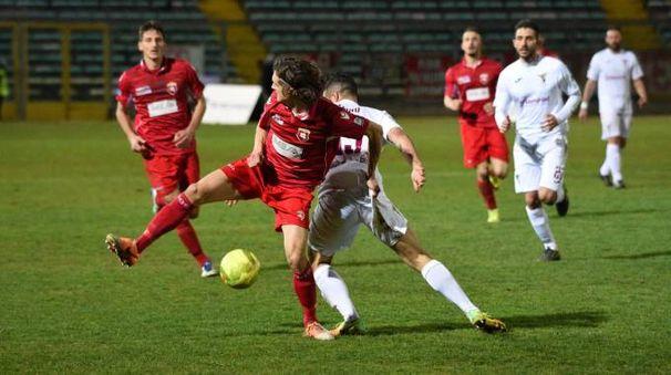 Il derby Ancona - Fano (Foto Emma)