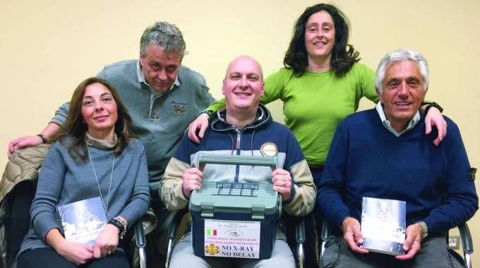 Paola Colosimo, Gabro Desideri, Andrea Nuti e (in piedi) Massimo e Patrizia Pieraccini