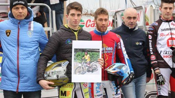 Luca Petrella insieme a Matteo Grattarola