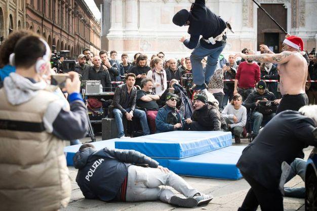 Nella puntata ci sono anche stuntman (Massimo Paolone)