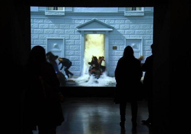 Firenze la videoarte di bill viola a palazzo strozzi - Bill viola a firenze ...