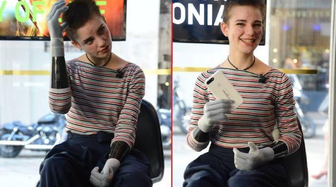 Bebe Vio ha due nuove mani (LaPresse)