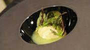 Mantecato di luccio con salsa di mela verde e zenzero
