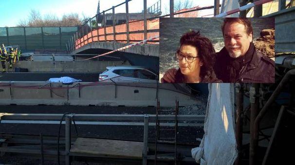 Le vittime sono Emidio Diomede, 61 anni, e la moglie Antonella Viviani, 55