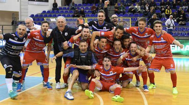 Prato in festa (foto Cassella/Divisione Calcio a 5)
