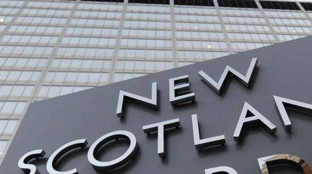 La polizia di Scotland Yard (Ansa)