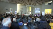 Grande commozione in chiesa (foto Labolognese)
