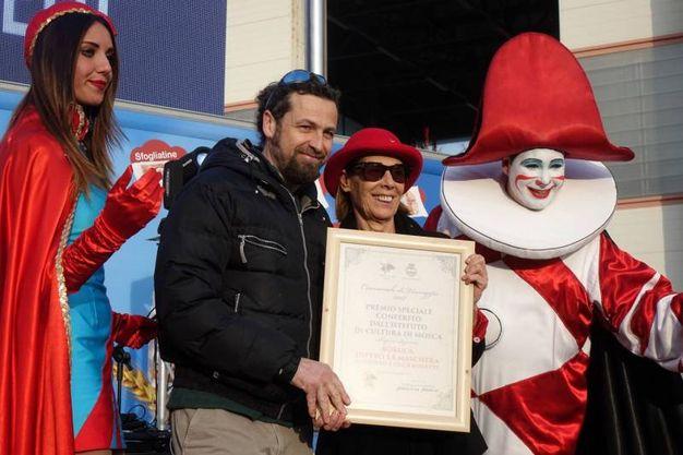 Premio Istituto russo a Boruca (foto Umicini)