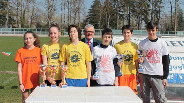 I sei vincitori di Sprinta con l'Avis