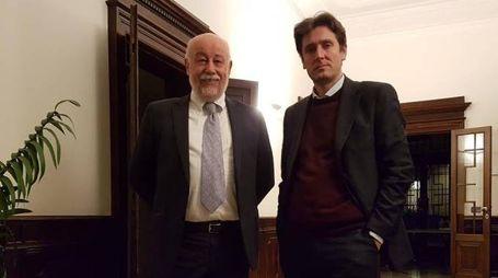 Maurizio Lenzi, industry manager, e Aldo Campi, ad dell'azienda 'Stoorm5'