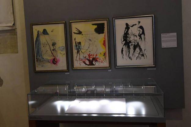 La mostra propone due preziose serie grafiche incentrate sui temi 'Le dodici tribù di Israele' e 'Mosè e il monoteismo' (Foto Schicchi)