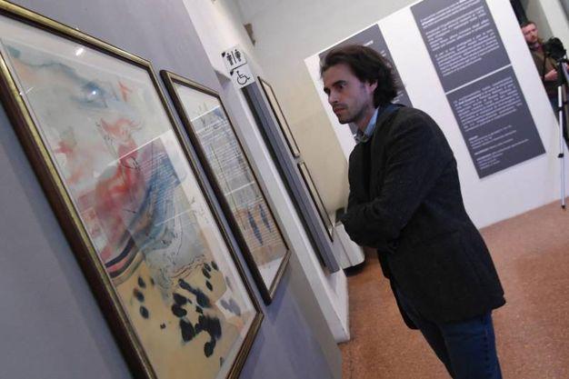 Le opere in mostra (Foto Schicchi)