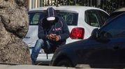 Indagine sui parcheggiatori abusivi (New Press Photo)