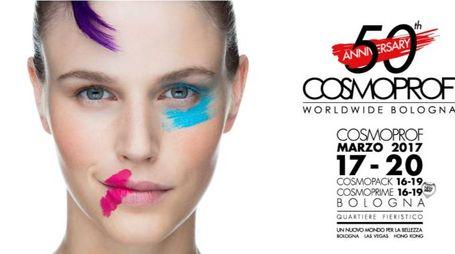 La locandina di Cosmoprof Worldwide Bologna 2017
