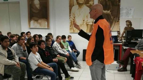 """Sergio Giovannini incontra gli studenti del """"Niccolò Pisano"""""""