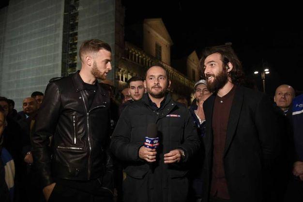 Giro per il centro storico di Ferrara organizzato dalla trasmissione 'Calciomercato – L'originale' (BusinessPress)
