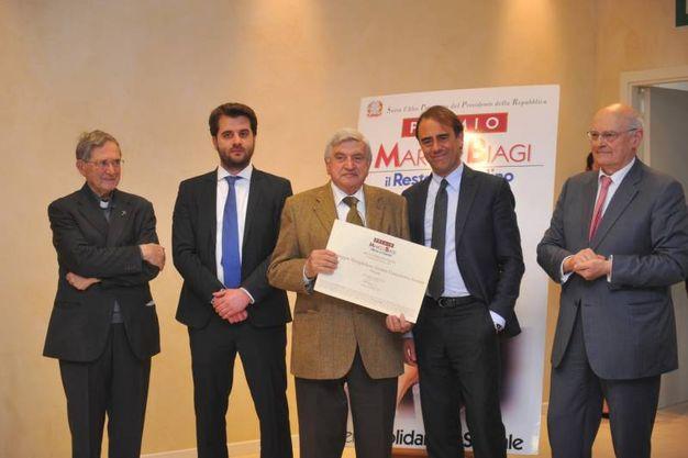 La cooperativa sociale Campeggio Monghidoro di Bologna premiata con 3mila euro (Schicchi)