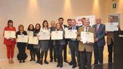 Il gruppo dei premiati di Bologna (Schicchi)
