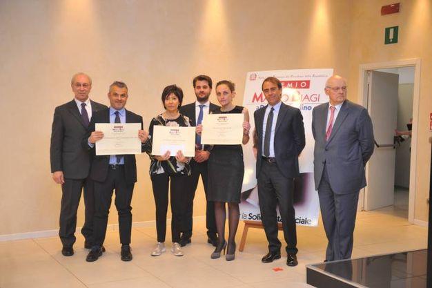 Il gruppo dei premiati di Rimini (Schicchi)
