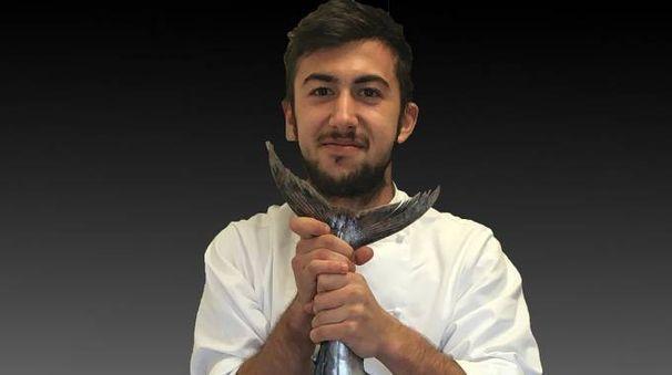 Filippo Alessandri basa molto la sua cucina creativa sul pesce