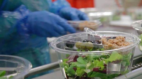 I dipendenti dell'azienda gettavano i 'corpi estranei' all'interno dei macchinari per il taglio e il lavaggio delle verdure; spesso si trattava di ragni, scarafaggi, cavallette, ma anche pezzi di metallo e cicche di sigarette