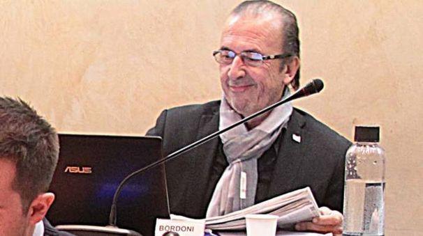 Il consigliere di minoranza Gianfranco Bordoni (Orlandi)