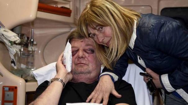 Roberto Luzi e la moglie (foto Businesspress)