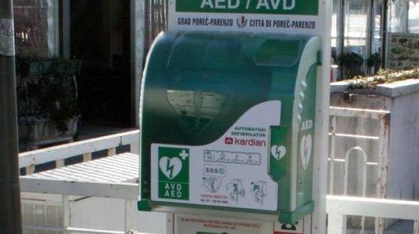 Il defibrillatore può salvare una vita