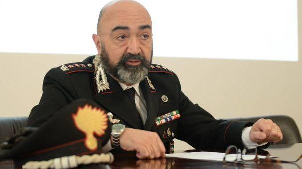Il colonnello dei carabinieri Luca Politi (foto Frasca)