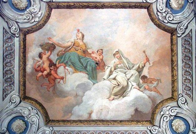 Parma, Appartamento di Ferdinando di Borbone Osservatorio soffittostanza Carità
