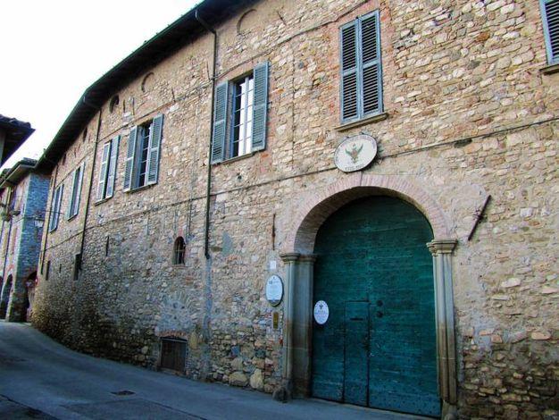 Bobbio (PC), Palazzo Malaspina