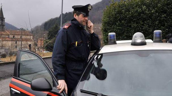 Sono intervenute le pattuglie dei carabinieri