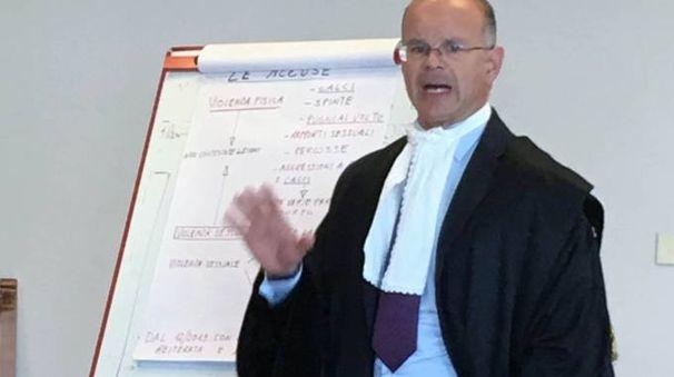 L'avvocato Andrea Lazzoni
