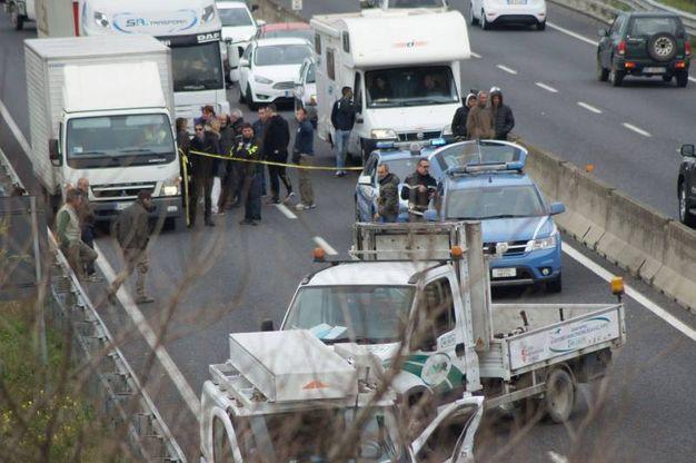 La scena dell'incidente (Sarah Esposito / Germogli)
