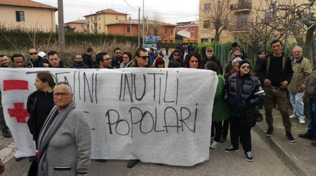Proteste contro il People Mover (Foto Valtriani)
