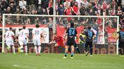 Il gol dello 0-2 di Antenucci (foto LaPresse)