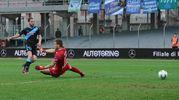 Il quarto gol della Spal (foto Fiocchi)