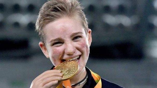 La campionessa paraolimpica di scherma Beatrice Vio